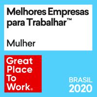 Selo GPTW Melhores Empresas para Trabalhar - Mulher