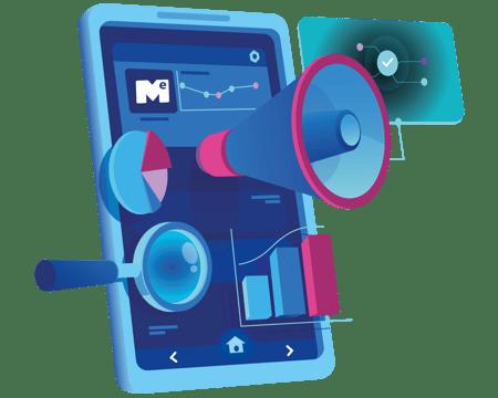 Mockup celular com auto falantes