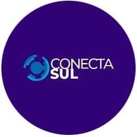 Logotipo do evento online Jornada de Conecta Sul, com participação do Mercado Eletrônico